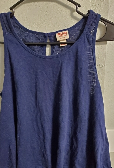 Mossimo Supply Co. Tops - Mossimo Blue Tank Top